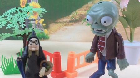 僵尸和巫婆碰面了,僵尸能阻止巫婆做坏事吗