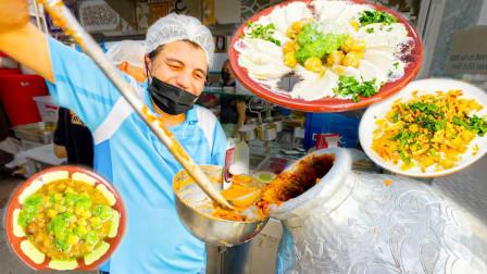 爆好吃的迪拜鹰嘴豆泥,一种食材百种吃法,健康又美味,当地人的最爱!