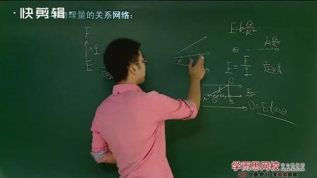 高二物理选修3_1,电场物理量关系梳理,人教版高中物理网课