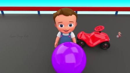 齿轮和小球 识颜色 育儿早教启蒙益智 第1集