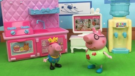 少儿玩具:乔治学什么不会什么,猪妈妈很着急
