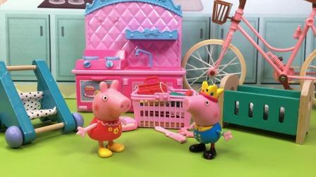 少儿亲子玩具:乔治说了佩奇的台词