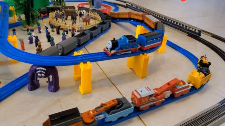 儿童趣味益智玩具 动感火车托马斯小火车