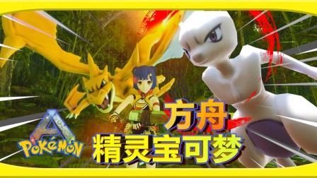 最强输出!Y喷火龙对战超梦!!  ARK:精灵宝可梦#11
