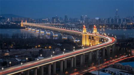 每天通车8万辆,118辆坦克碾压巍然不动,南京长江大桥到底多牛?