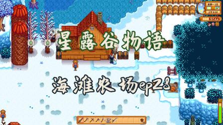 《星露谷物语》海滩农场ep28 冬季开始