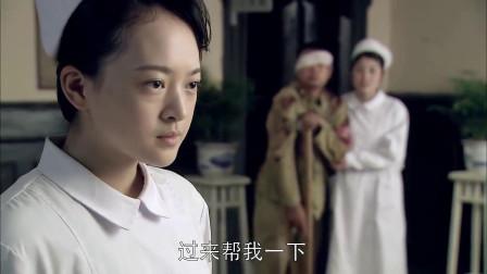 女特工打扮成护士混入日军医院,眼看就要暴露,不料参谋长神助攻
