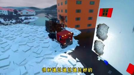 11级大风,能把加长卡车给吹散架不?