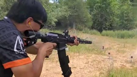顶尖神枪手都是靠子弹喂出来的,看看这枪法