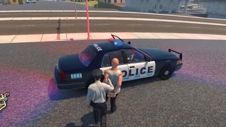 警察模拟器:抓到俩个醉酒的人带回警局醒醒酒