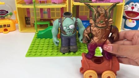 巨人僵尸的糖果坏了
