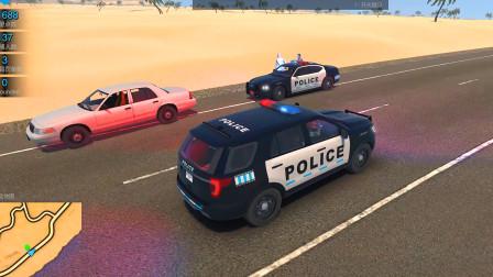 警察模拟器:同事在高速路上逮捕了2名嫌犯过去帮下忙
