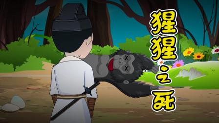 悬疑推理:奇怪!男子被猩猩一巴掌拍晕,醒来后猩猩怎么死了?