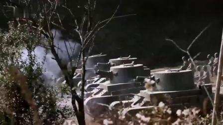 敌军坦克出击,哪料底下全是炮弹,有来无回