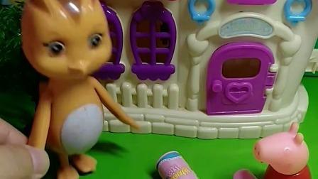 儿童玩具:两个好朋友吵起架来咯