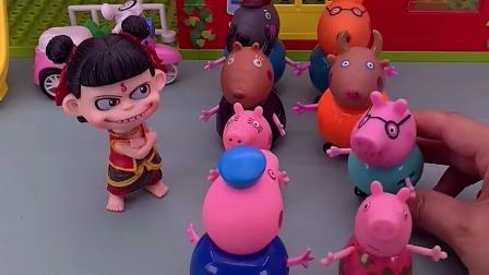 儿童玩具:哪吒做领导咯