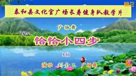 恰恰小四步泰和县长寿健身队教学片