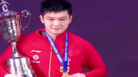 马龙:樊振东进步特别多,未来是他的!张继科:退役后给小胖当经纪人