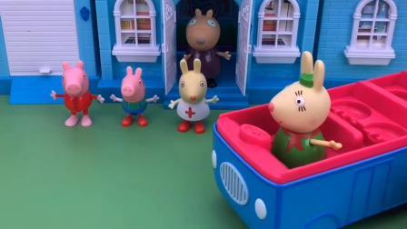 少儿玩具:大家排好队等着爸爸妈妈来接