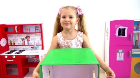 小萝莉和小白玩抽宝箱游戏,竟然抽到这个