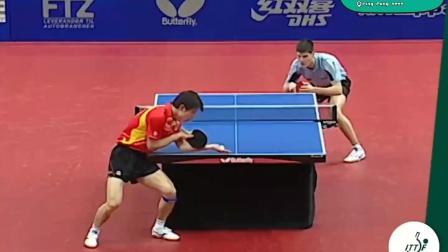 2009丹麦乒乓球公开赛男单半决赛——张继科VS奥恰洛夫