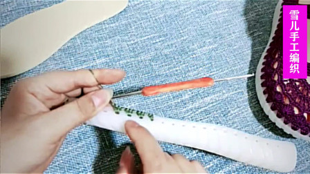 系带孕妇护士凉鞋的编织