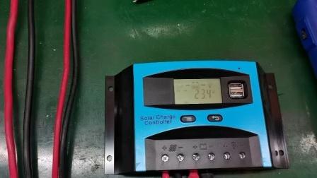PWM太阳能控制器汉丰ST7系列带电流显示