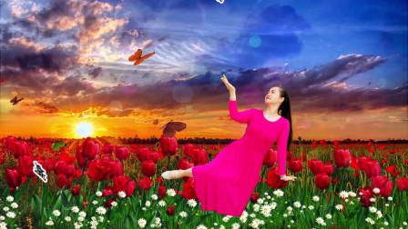 延川远儿广场舞《美丽的蝴蝶》