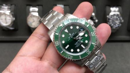 C厂绿水鬼腕表做的怎么样