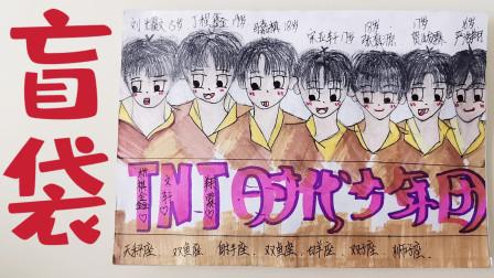 自制TNT时代少年团盲袋 帅气可爱 拆到了严浩翔卡片我非常喜欢