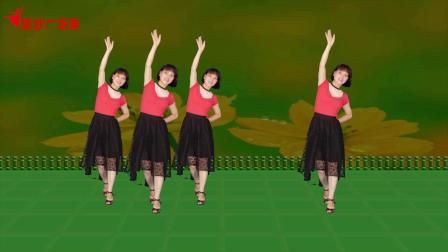 微妙广场舞《格桑花开》原创抒情优美三步舞附分解教学