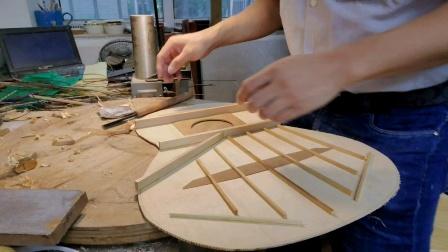 古典吉他面板修整调试小蒋吉他广州市水荫路工作室