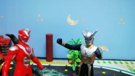 奥特曼小剧场:黑暗赛罗与赛罗的决斗