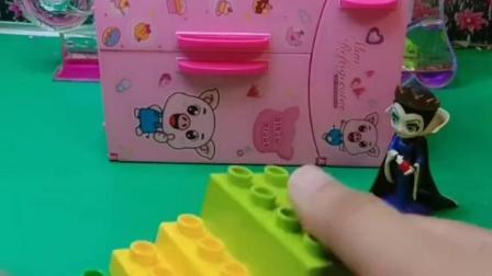 趣味童年:白雪怎么把楼梯给拆了呢