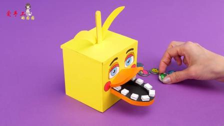 用纸板制作储存罐,你会做吗?