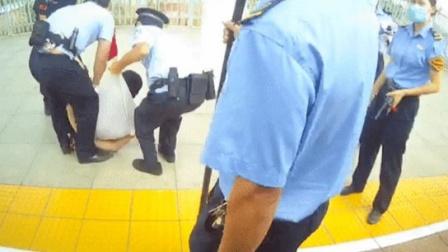 行拘!男子高铁上拒戴口罩  3分钟殴打13人
