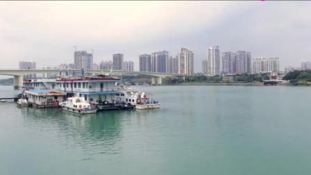 太美了! 实拍南宁邕江沿岸风景美如画, 住在旁边的人简直太爽了!