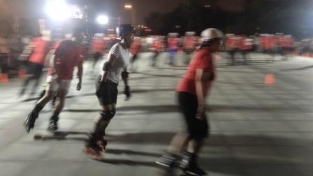 20210817天津市侯台体育广场动感轮滑欣赏(30)