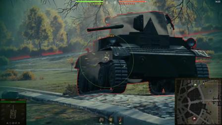 """我在新手村""""三进四出""""的日子,出不来了怎么办?坦克世界"""