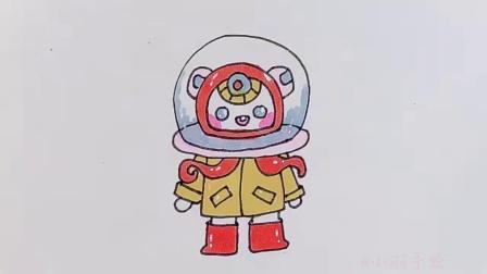 小学生画的小章鱼VS大学生画的,你喜欢谁画的?