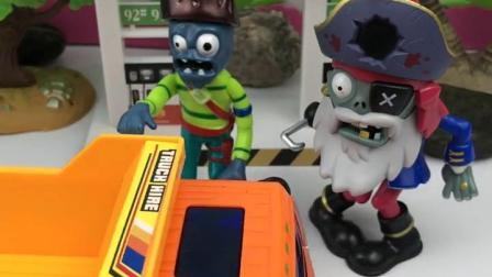 趣味童年:僵尸把人们都吓坏了