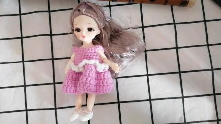 简单款娃衣钩织教程