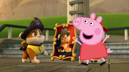 小猪佩奇和汪汪队立大功小砾的祖先