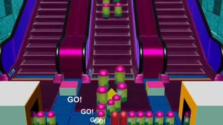 趣味小游戏:把东西送上电梯,不要被消掉了呀,你能成功吗