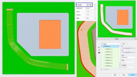 Creo8.0新功能视频教程:布线设计中增强的带缆折弯位置点创建