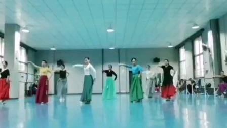 曹阳老师朝鲜舞课堂,手位组合!