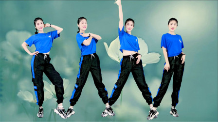 减肥瘦身广场舞《爱被冷风吹》节奏感十足,舞步时尚!