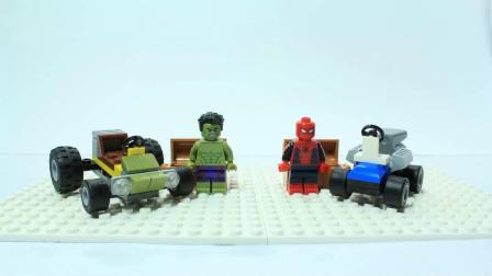 乐高动画: 乐高蜘蛛侠和绿巨人的决战