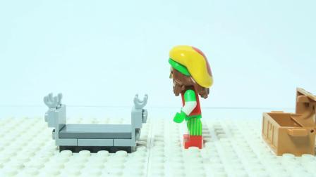乐高动画: 乐高机器人制作出时空之门的钥匙