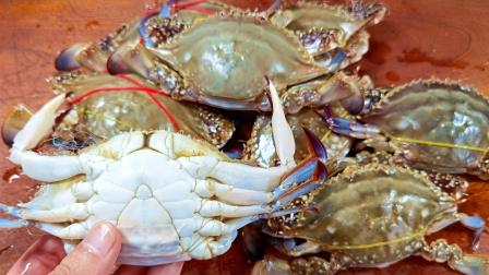螃蟹肥不肥,看一眼这里就知道,一挑一个准,老渔民的方法真好用